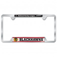 Chicago Blackhawks Metal License Plate Frame