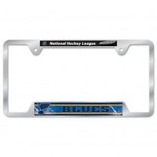 St. Louis Blues Metal License Plate Frame