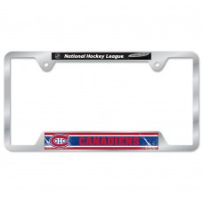 Montreal Canadiens Metal License Plate Frame