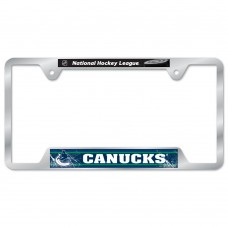 Vancouver Canucks Metal License Plate Frame