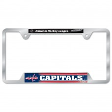 Washington Capitals Metal License Plate Frame