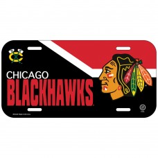 Chicago Blackhawks License Plate