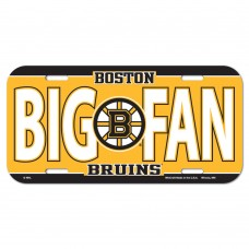 Boston Bruins License Plate