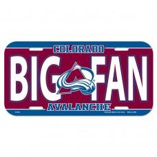 Colorado Avalanche License Plate