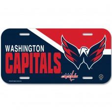 Washington Capitals License Plate