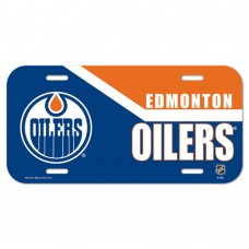 Edmonton Oilers License Plate