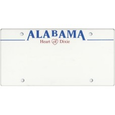 Alabama State Replica Plate
