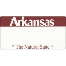 Arkansas State Replica Plate