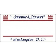 Washington DC State Replica Plate