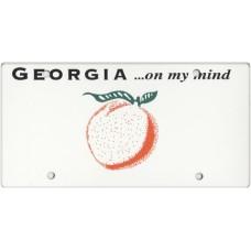 Georgia State Replica Plate