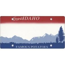 Idaho State Replica Plate