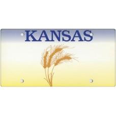 Kansas State Replica Plate