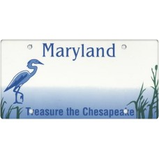 Maryland State Replica Plate