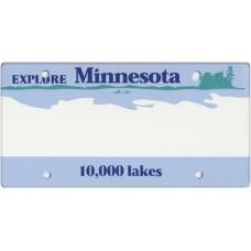 Minnesota State Replica Plate