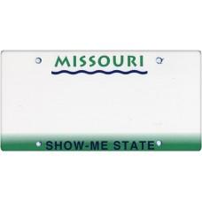 Missouri State Replica Plate