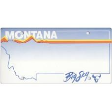 Montana State Replica Plate