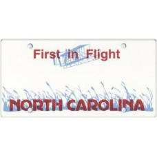 North Carolina State Replica Plate