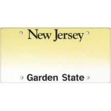 New Jersey State Replica Plate