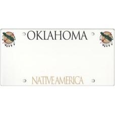 Oklahoma State Replica Plate