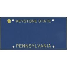 Pennsylvania State Replica Plate