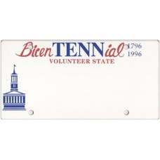 Tennessee State Replica Plate