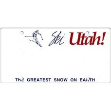 Utah State Replica Plate