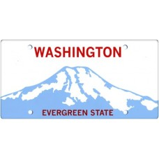 Washington State Replica Plate