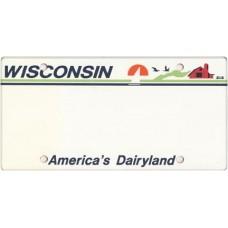 Wisconsin State Replica Plate