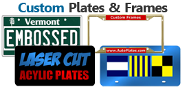 Custom Plates and Frames