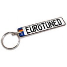 Custom European Plate Keychain