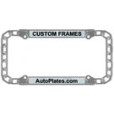 Custom Chain License Plate Frame