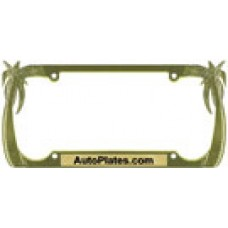 Custom Palms License Plate Frame