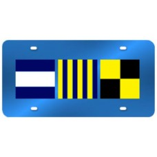 Custom Nautical License Plate