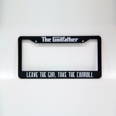 The Godfather License Plate Frame