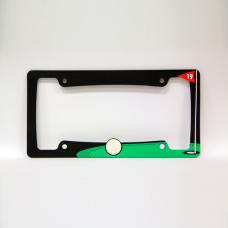 19th Hole Golf License Plate Frame