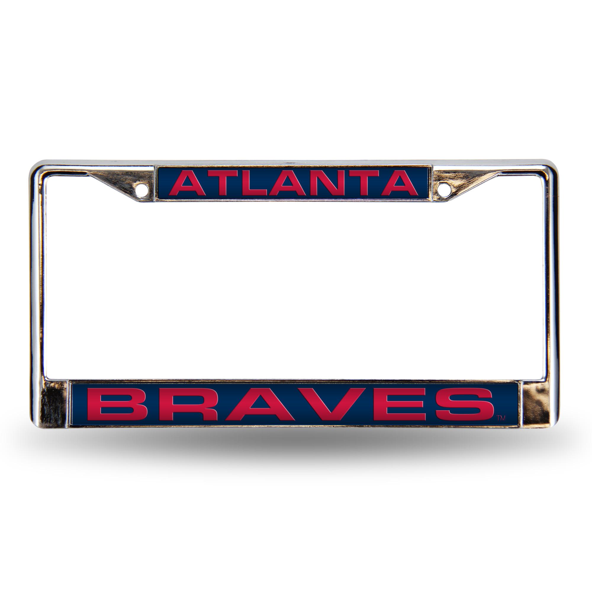 Customize Atlanta Braves License Plate Frames by Auto Plates