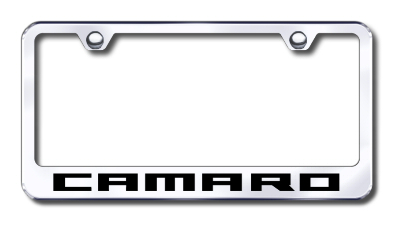 chevrolet license plate frames