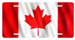 Canada Flag License Plates