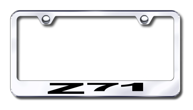 Customize Chevrolet License Plate Frames by Auto Plates