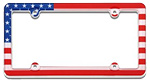 Country License Plate Frames