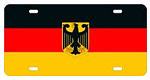 Germany Flag License Plates