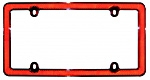Reflector License Plate Frames
