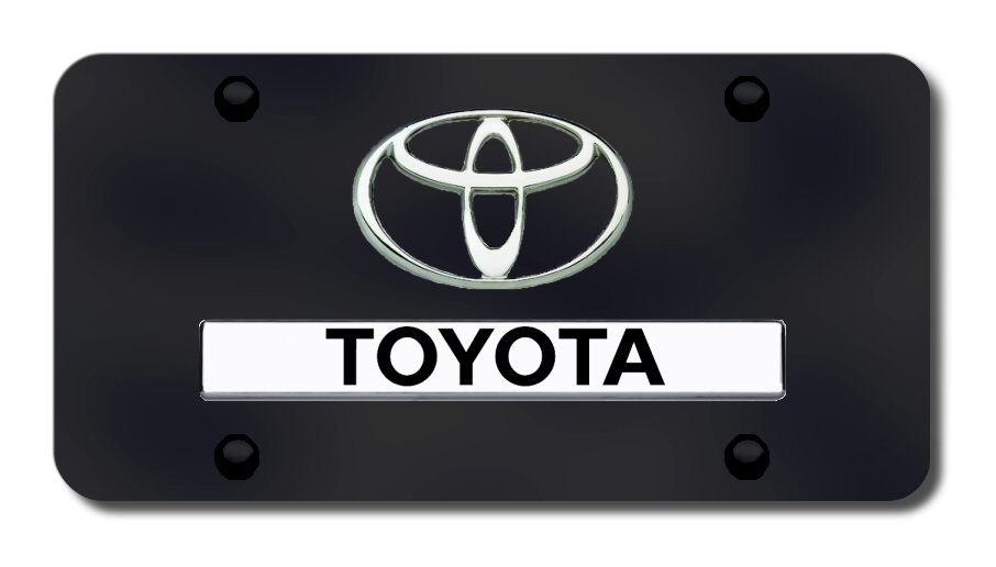 Toyota License Plates