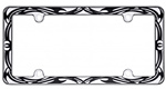 Tribal License Plate Frames