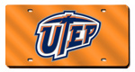 UTEP Miners License Plates