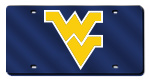 West Virginia Mountaineers License Plates