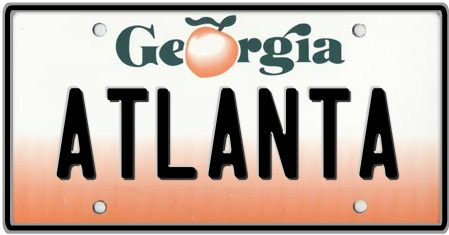 Customize georgia license plates by auto plates for Georgia out of state fishing license
