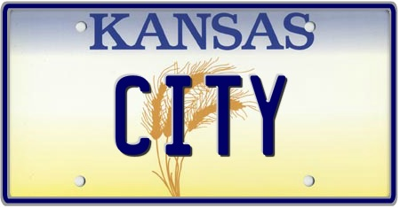 Kansas License Plates Custom State Plate