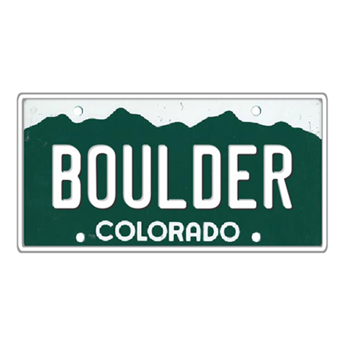 Colorado State Colorado License Plate