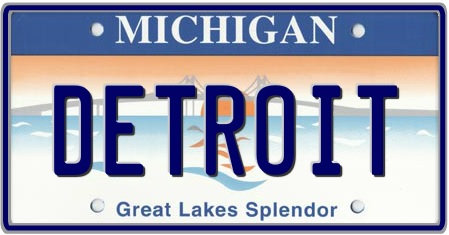 Customize state license plates by auto plates for Michigan out of state fishing license